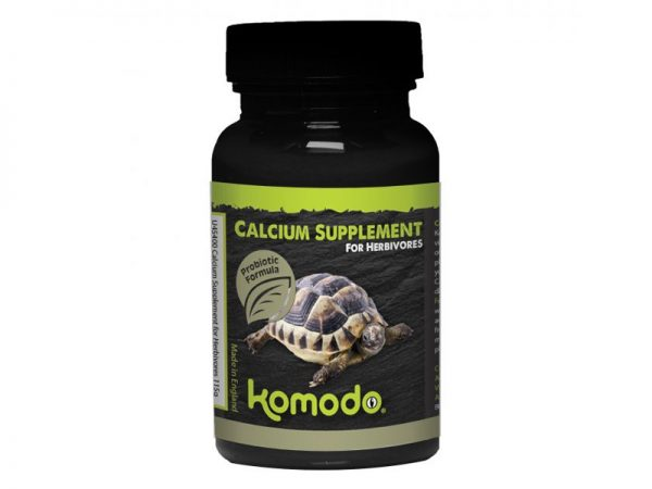 Komodo Calcium Supplement for Herbivores 115g
