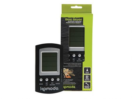 Komodo Combined Thermometer and Hygrometer Digital
