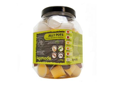 Komodo Jelly Pots Fruit Mix Jar