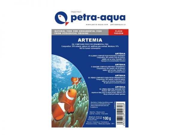 Frozen Artemia Blister Pack