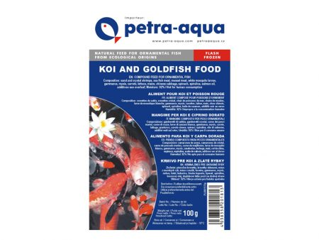 Frozen Koi and Goldfish Special Food