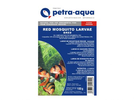 Frozen Red Mosquito Larvae Bred