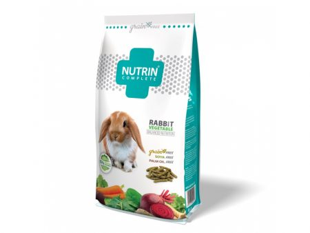 Nutrin Complete Rabbit Vegetable - Grain Free