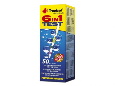Tropical 6-in-1 Water Test