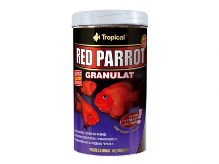Tropical Red Parrot Granules